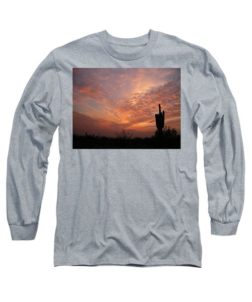 Saguaro Sunset Long Sleeve T-Shirt