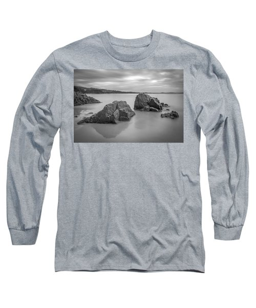 Seselle Beach Galicia Spain Long Sleeve T-Shirt by Pablo Avanzini