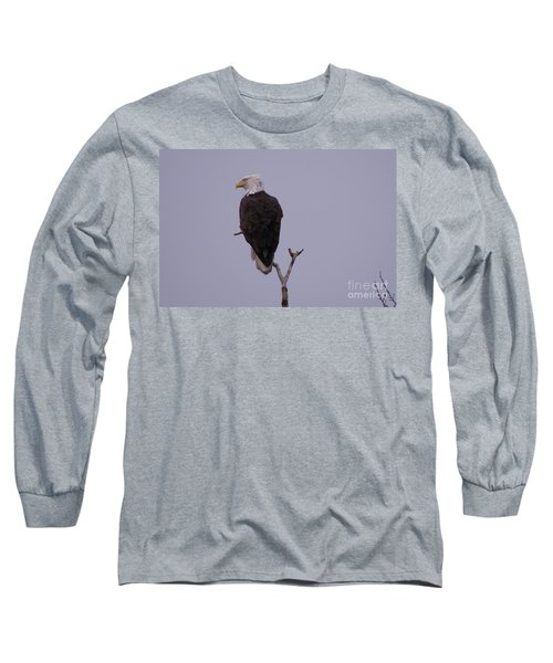 Solo  Bald Eagle Long Sleeve T-Shirt