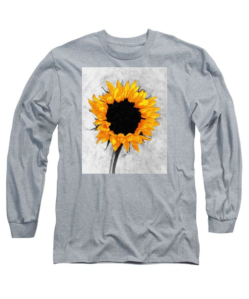 Long Sleeve T-Shirt featuring the photograph Sun Fire 2 by I'ina Van Lawick