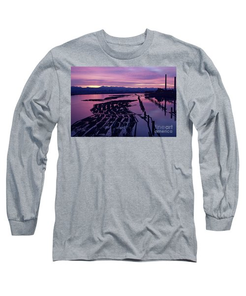 Sunrise Lumber Mill Long Sleeve T-Shirt