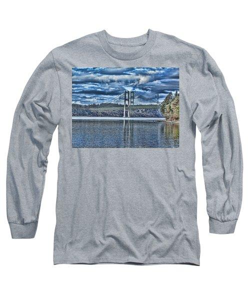 Tacoma Narrows Bridge Long Sleeve T-Shirt