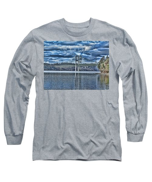 Tacoma Narrows Bridge Long Sleeve T-Shirt