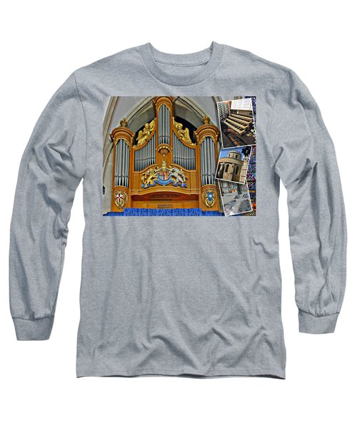 Temple Church London Long Sleeve T-Shirt