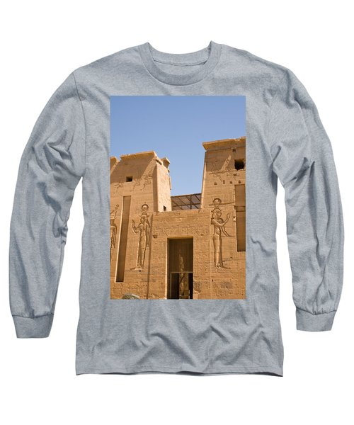 Temple Wall Art Long Sleeve T-Shirt