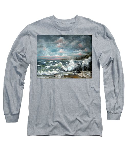 Turning Tide Long Sleeve T-Shirt by Patrice Torrillo