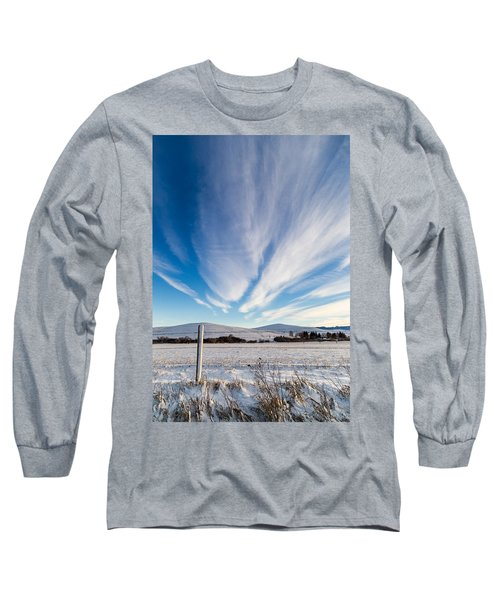 Under Wyoming Skies Long Sleeve T-Shirt