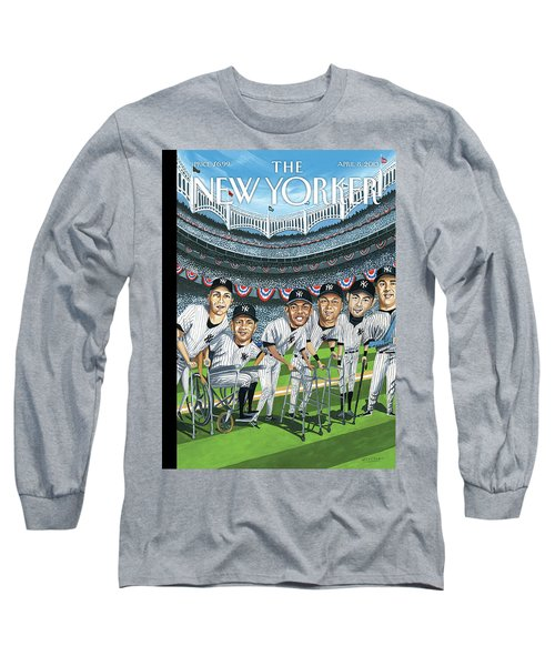 New Yorker April 8th, 2013 Long Sleeve T-Shirt