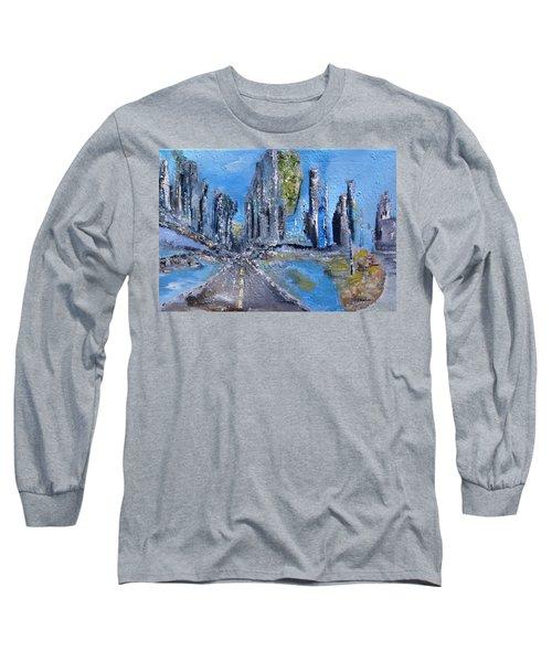 Urban Long Sleeve T-Shirt by Evelina Popilian