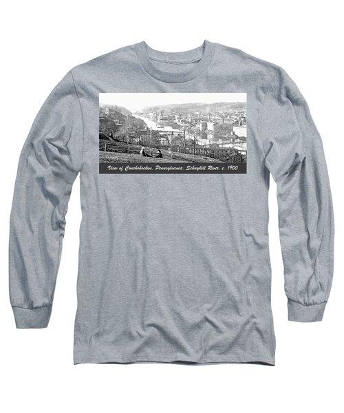 View Of Conshohocken Pennsylvania C 1900 Long Sleeve T-Shirt