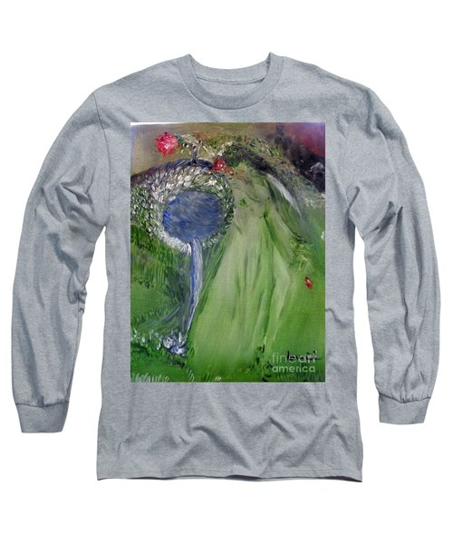 Water Girl Long Sleeve T-Shirt by Laurie L