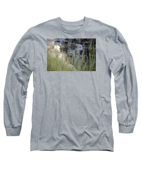 Long Sleeve T-Shirt featuring the photograph Water Is Life 2 by Teo SITCHET-KANDA