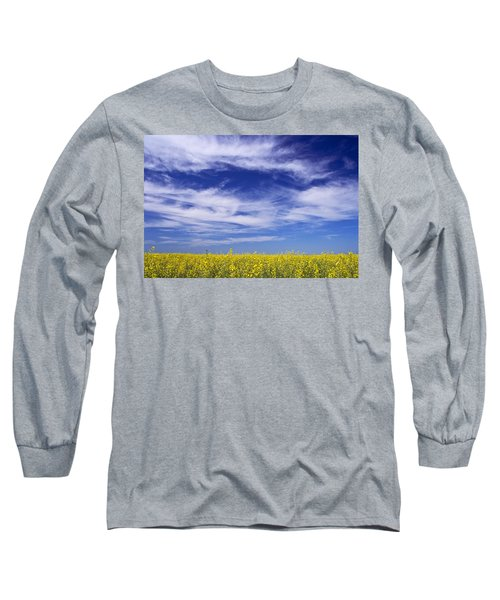 Where Land Meets Sky Long Sleeve T-Shirt by Keith Armstrong