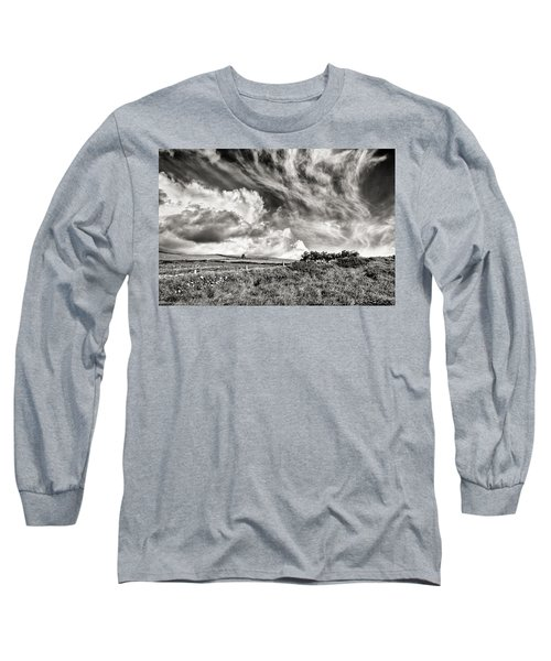 Written In The Wind Long Sleeve T-Shirt by William Beuther