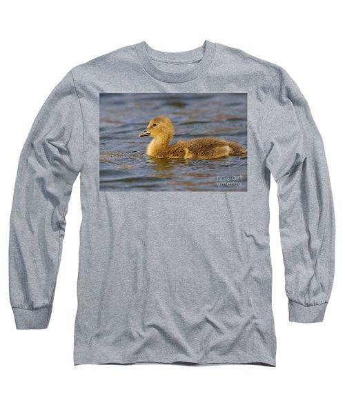 Young Greylag Goose Long Sleeve T-Shirt