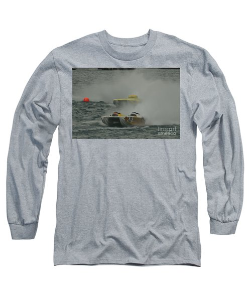 Port Huron Sarnia International Offshore Powerboat Race Long Sleeve T-Shirt by Randy J Heath