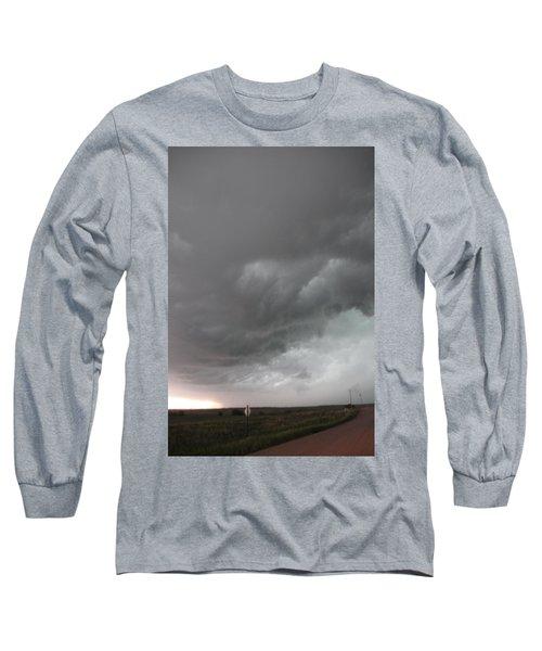 Nebraska Panhandle Supercells Long Sleeve T-Shirt