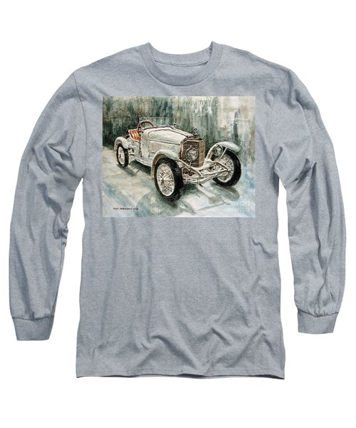 1923 Mercedes Ps Sport- Zweisitzer Long Sleeve T-Shirt by Joey Agbayani
