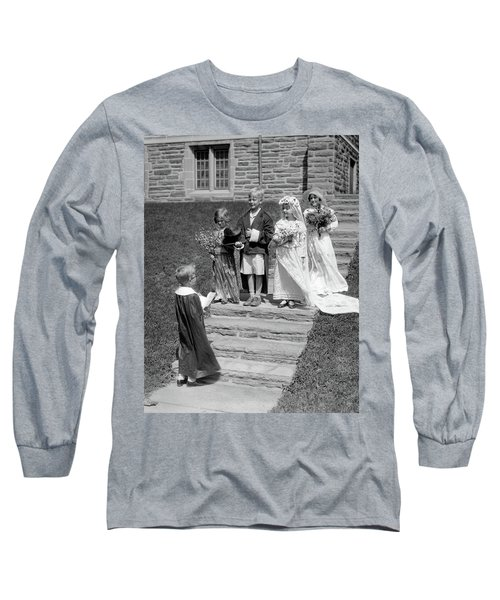1930s Children Boys And Girls Playing Long Sleeve T-Shirt