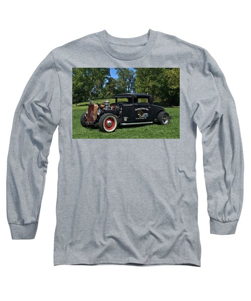 1931 Nash Coupe Hot Rod Long Sleeve T-Shirt by Tim McCullough