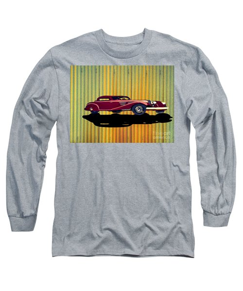 1936 Mercedes Benz Classic Car Long Sleeve T-Shirt