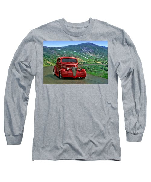 Long Sleeve T-Shirt featuring the photograph 1939 Chevrolet Coupe by Tim McCullough