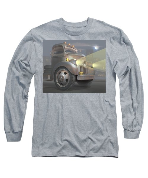 1946 Chevy Coe Long Sleeve T-Shirt by Stuart Swartz
