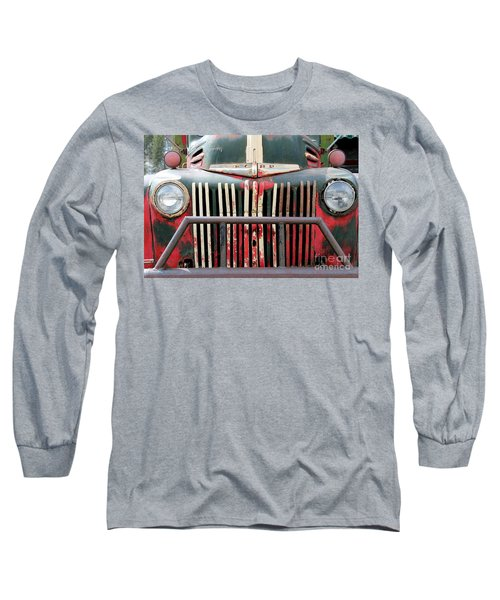 1946 Vintage Ford Truck Long Sleeve T-Shirt by Fiona Kennard