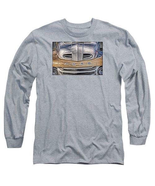 Long Sleeve T-Shirt featuring the digital art 1948 Ford Pickup by Richard Farrington