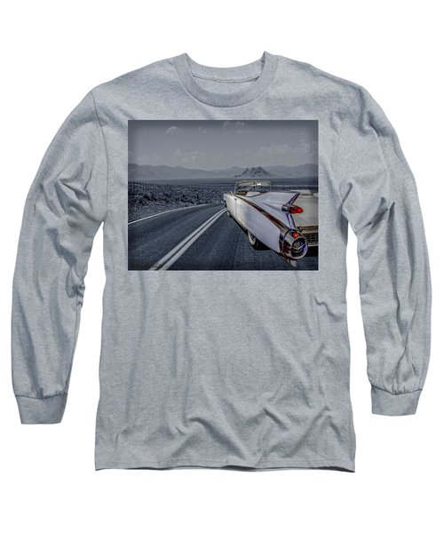 1959 Cadillac Eldorado Cool Night Long Sleeve T-Shirt