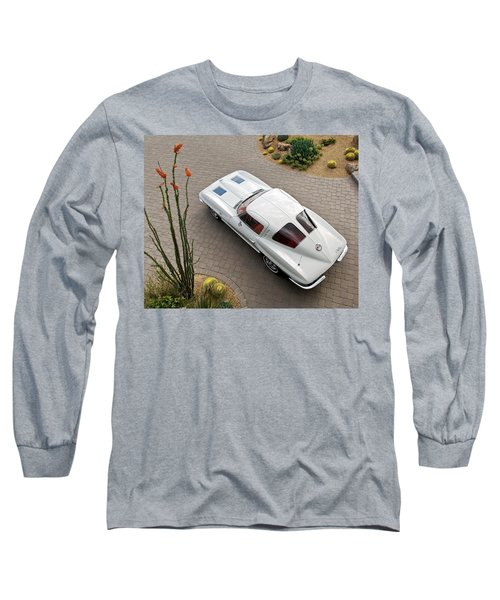 1963 Chevrolet Corvette Split Window -440c Long Sleeve T-Shirt
