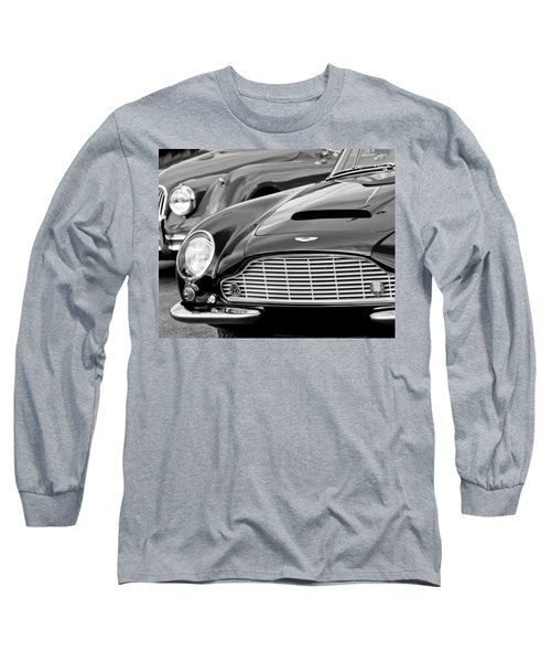 1965 Aston Martin Db6 Short Chassis Volante Long Sleeve T-Shirt
