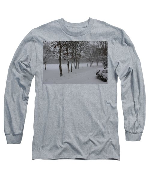 Long Sleeve T-Shirt featuring the photograph 2 2014 Winter Of The Snow by Paul SEQUENCE Ferguson             sequence dot net