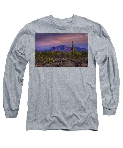 A Beautiful Desert Evening  Long Sleeve T-Shirt