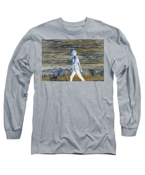 A Chance Of Something Long Sleeve T-Shirt by Nick David