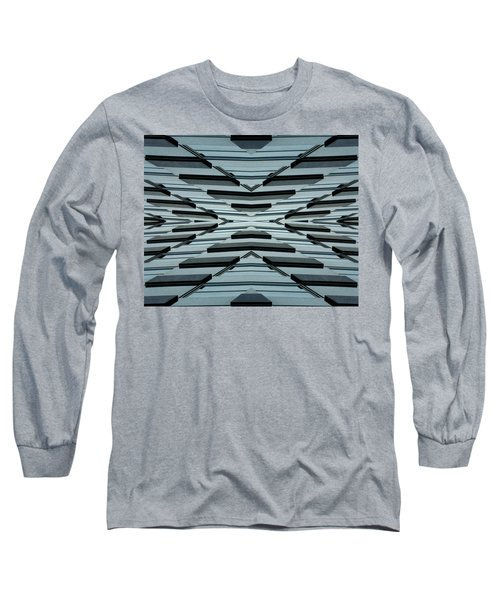 Abstract Buildings 3 Long Sleeve T-Shirt