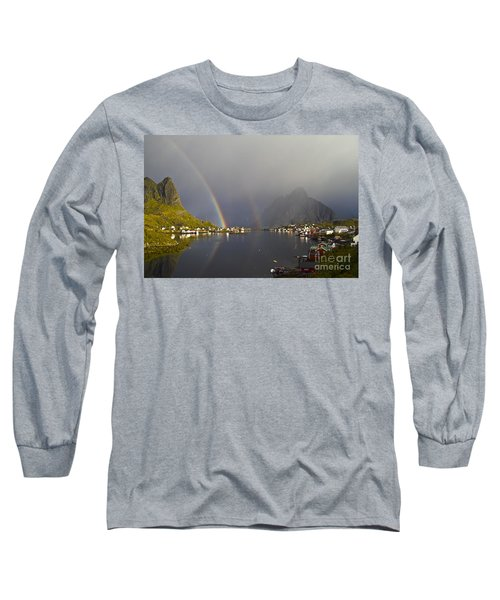 After The Rain In Reine Long Sleeve T-Shirt