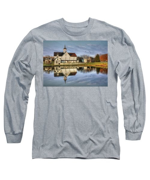 Afternoon At The Star Barn Long Sleeve T-Shirt by Lori Deiter