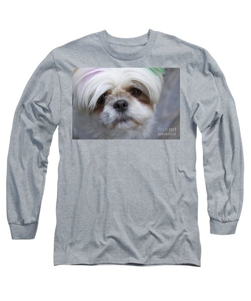 Long Sleeve T-Shirt featuring the photograph Atsuko by Xn Tyler