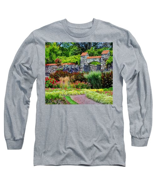 Biltmore Gardens Long Sleeve T-Shirt by Savannah Gibbs