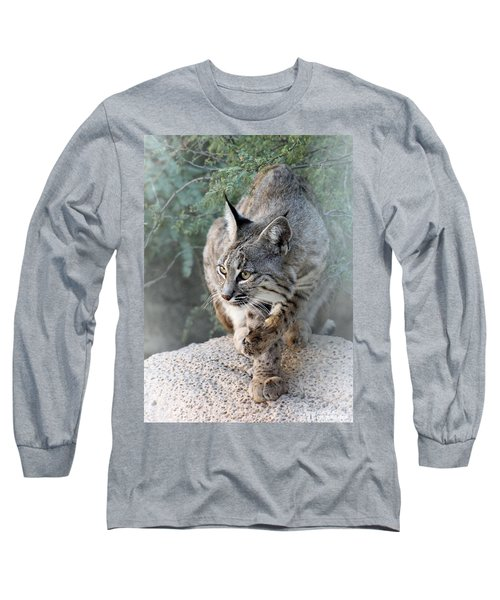 I Was Grooming Long Sleeve T-Shirt by Elaine Malott