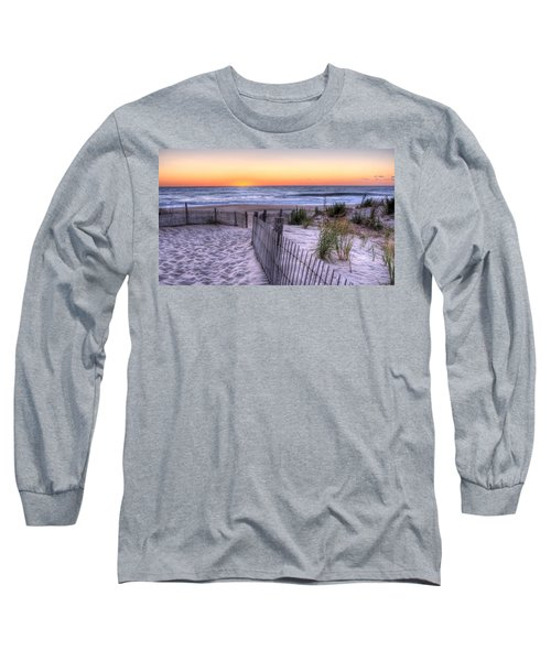 Dewey Beach Sunrise Long Sleeve T-Shirt