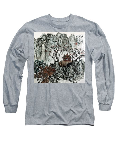 Long Sleeve T-Shirt featuring the photograph Fall Colors by Yufeng Wang
