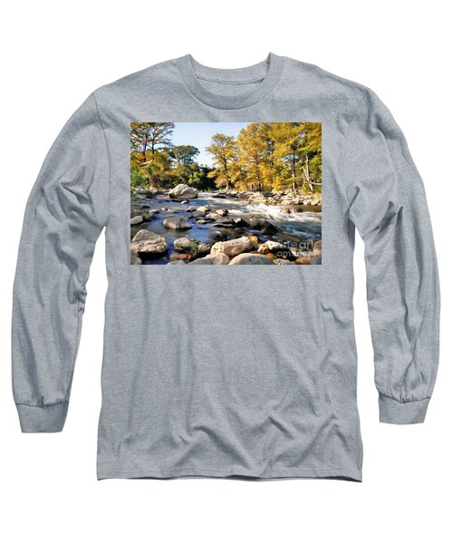 Guadalupe River  Long Sleeve T-Shirt