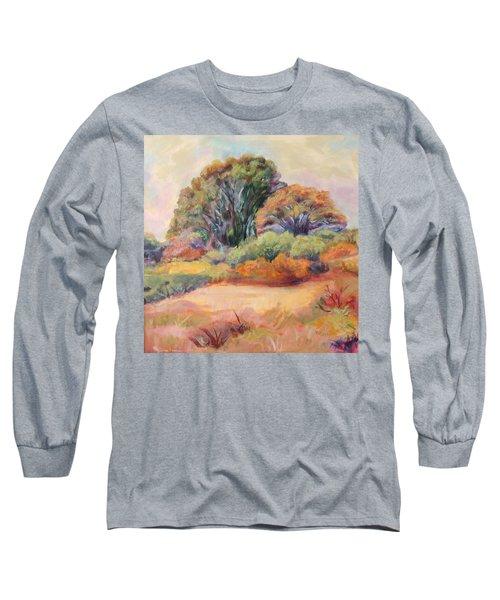 Henry's Backyard Long Sleeve T-Shirt by Patricia Piffath