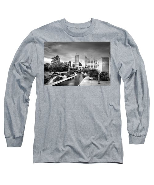 Indianapolis Long Sleeve T-Shirt by Alexey Stiop