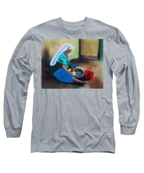 Making Bread Long Sleeve T-Shirt