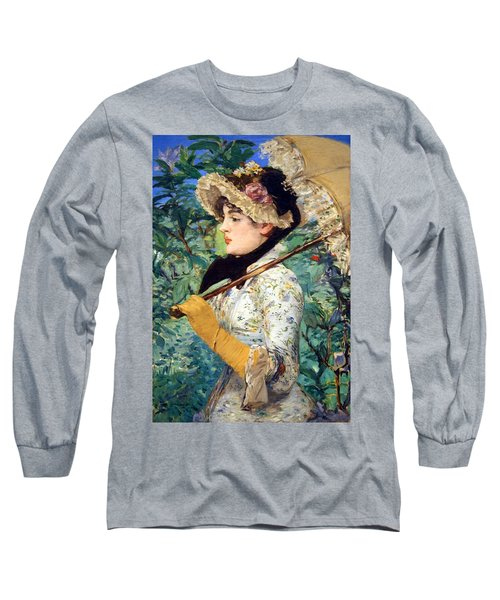 Long Sleeve T-Shirt featuring the photograph Manet's Spring by Cora Wandel