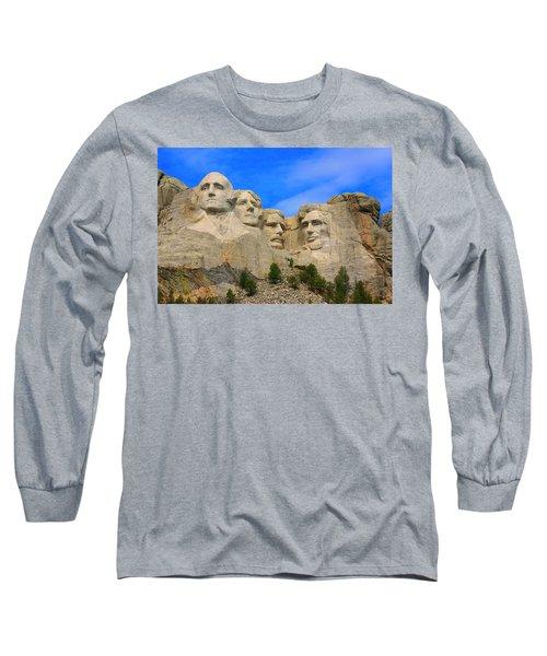 Mount Rushmore South Dakota Long Sleeve T-Shirt