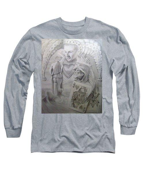 My Foolish Heart Long Sleeve T-Shirt by Rich Milo